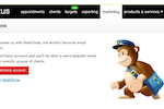 baxus screenshot: baxus integrates with MailChimp