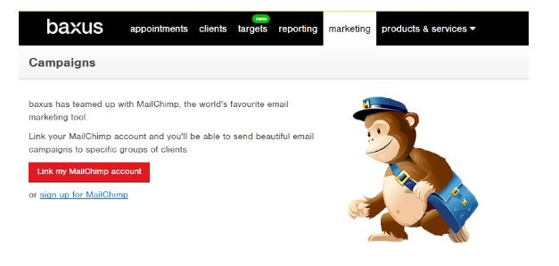 baxus integrates with MailChimp