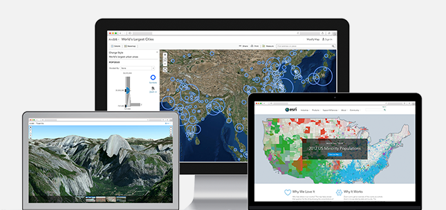 ArcGIS Online from Esri is a SaaS-based mapping and analysis solution, securely hosted for 24/7 web-based access