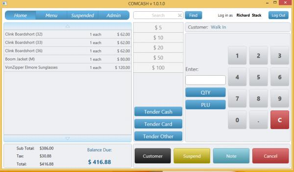 COMCASH Retail ERP Software - 1