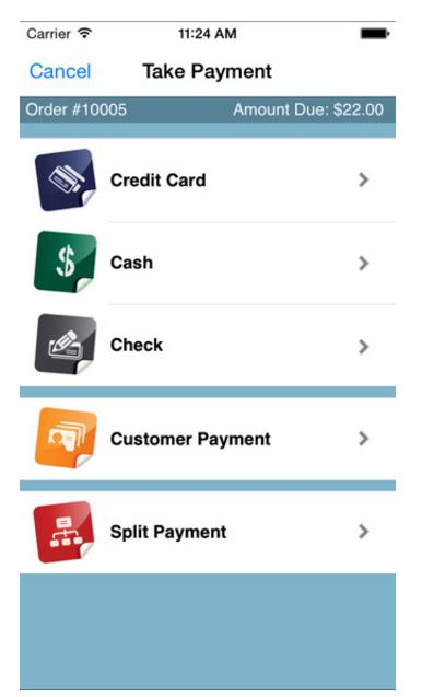 The software's mobile app allows business owners to take payment via debit card, credit card, and cash