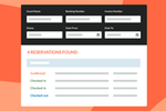 Little Hotelier Screenshot: Easy search and find reservations