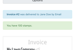 LawnPro screenshot: LawnPro invoice details