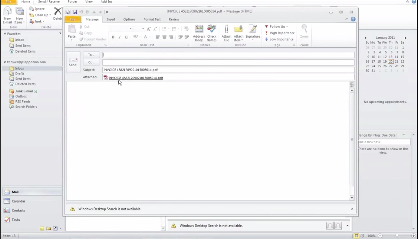 PaperSave Software - Document sharing