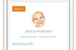 BigContacts screenshot: Access important Contact information from any Mobile device