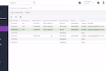MYOB Advanced screenshot: Link transactions to customers or suppliers, add bank charges, interest or record-omitted cash to a reconciliation screen.