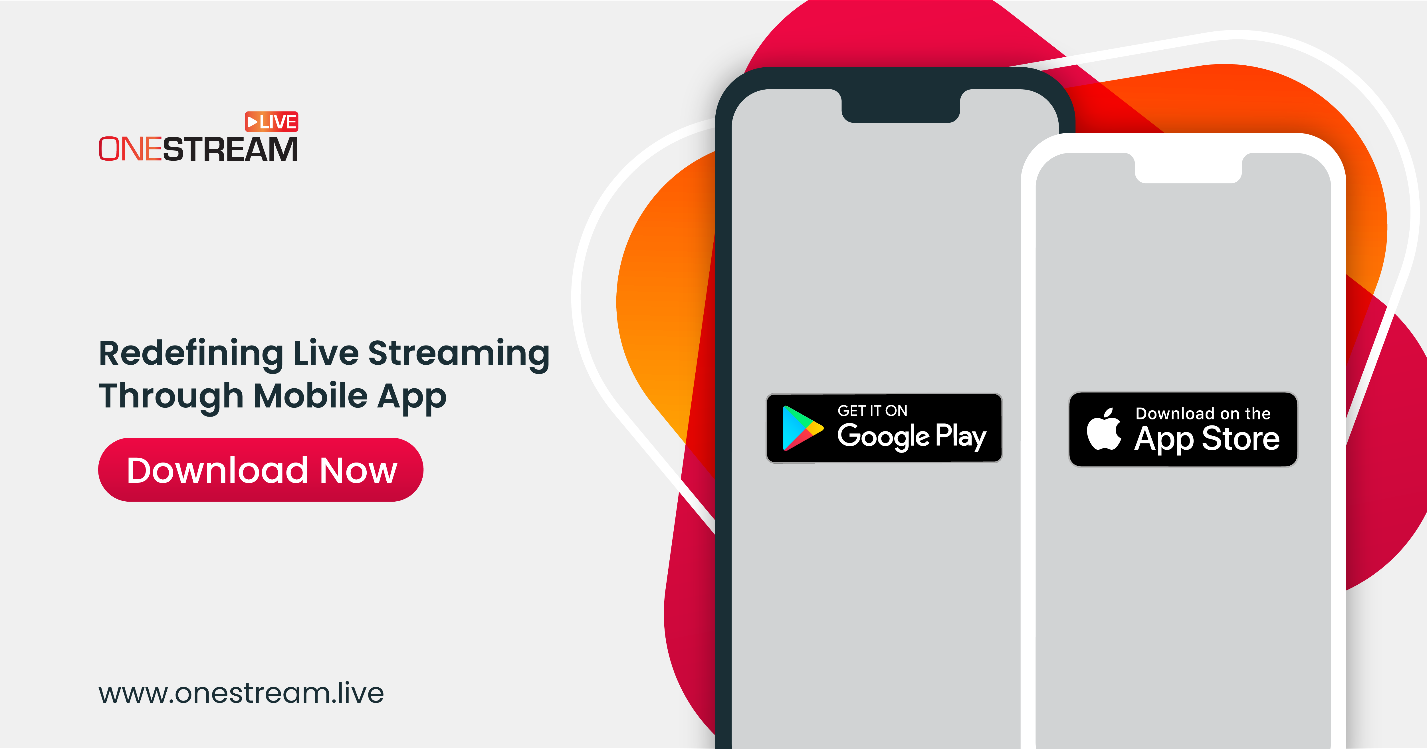 Download iOS and Android App to get the ultimate streaming experience on the go.
