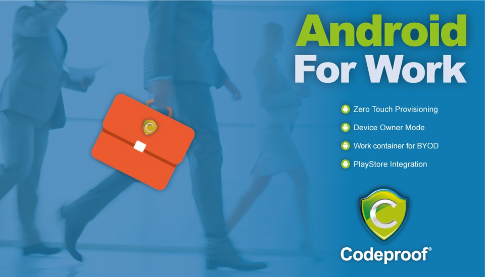 Codeproof Software - Android Enterprise