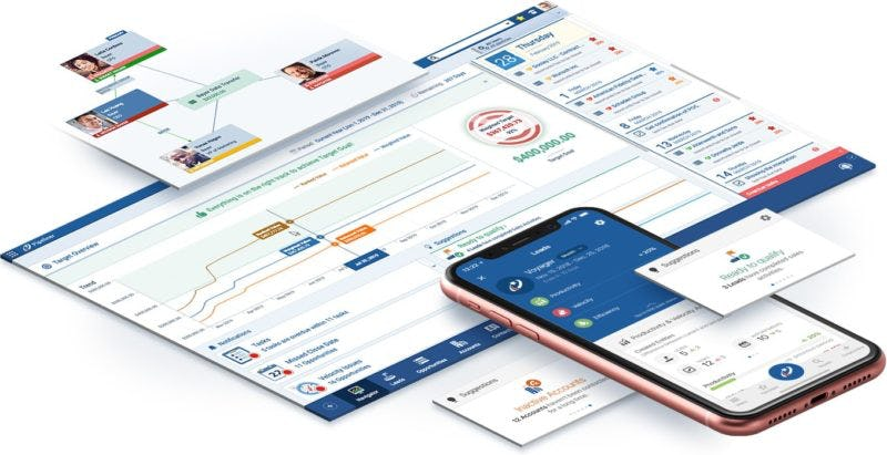 Pipeliner CRM Software - Pipeliner CRM visual