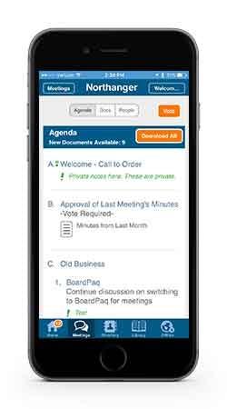 BoardPaq Software - Mobile app