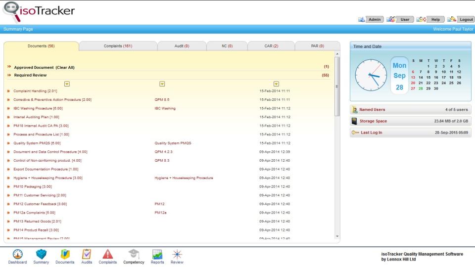 isoTracker Document Management Logiciel - 5
