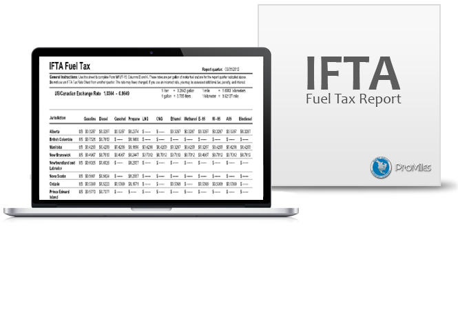 Complete a variety of reports, including fuel & mile tax summaries