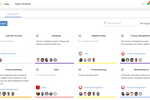 Captura de pantalla de eXo Platform: Project Management