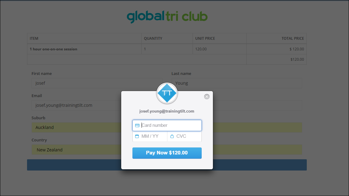 Payments Features