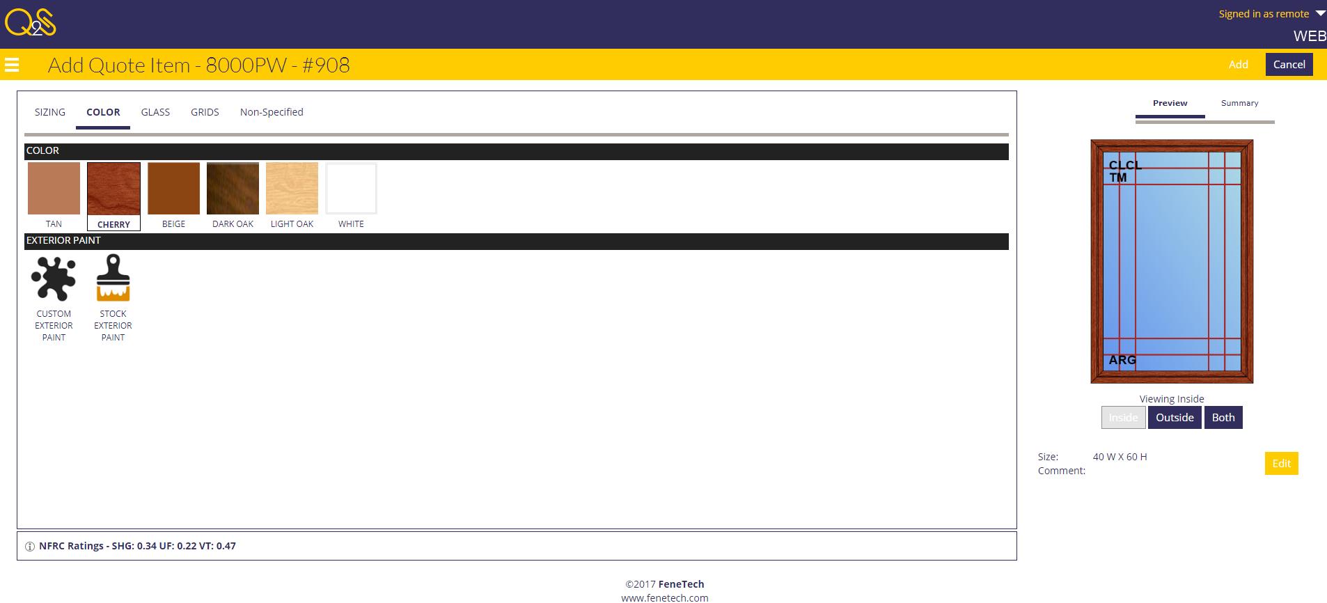 Image based web entry