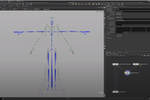 Houdini Screenshot: Houdini motion retargeting