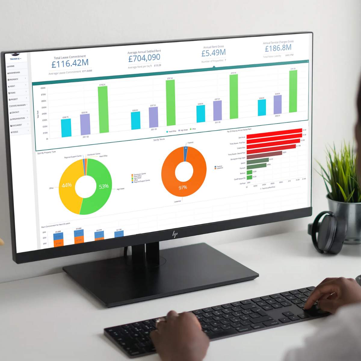 iSite Lite Software - The value of having all of your data in one system is the detail of the reports that you can make to visualise it all, helping you make key strategic decisions with a holistic view of all of your portfolio