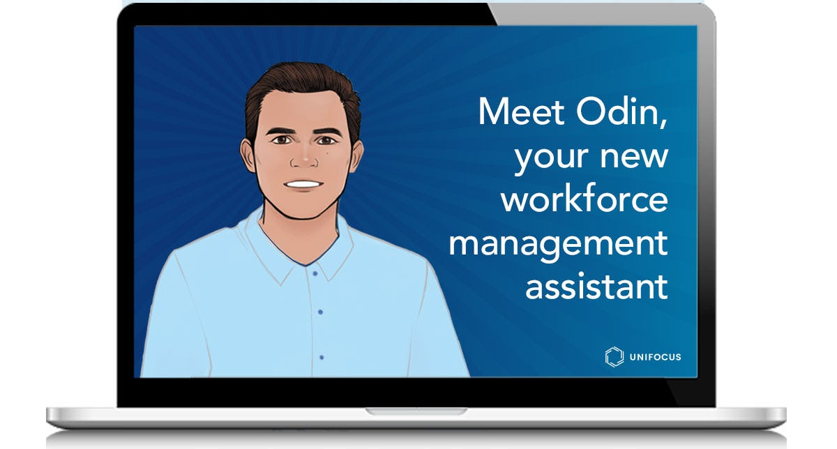 UniFocus Software - Odin is the UniFocus digital assistant, supporting managers with key business insights.