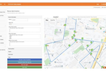 inSitu Sales screenshot: inSitu Sales: Route optimization software can coordinate both time and cost effective routes for your fleet of sales reps and drivers.