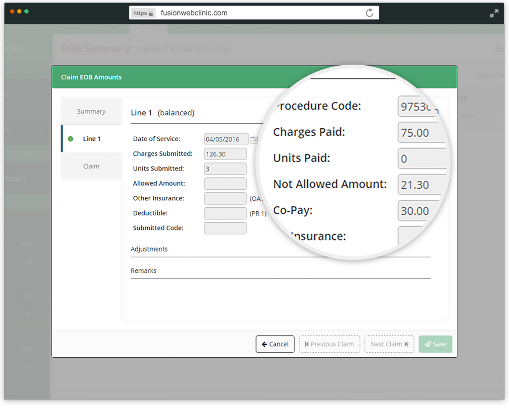 Electronic remittance automation helps seamlessly track what users get paid on each claim and why