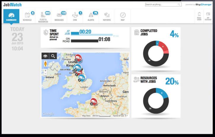BigChange Software - Drive route management
