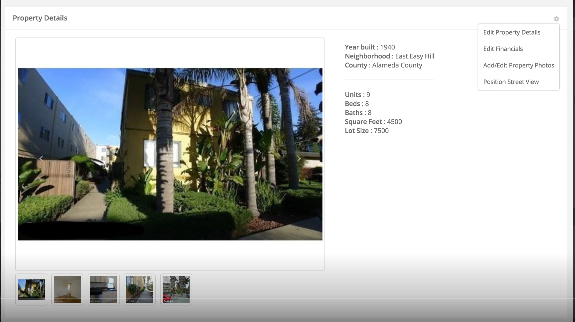Stessa property details