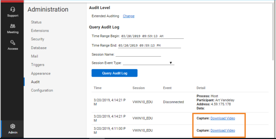 ConnectWise Control Software - ConnectWise Control audit management
