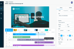 Bynder screenshot: Bynder Video Brand Studio - create on-brand videos at scale, in seconds not hours