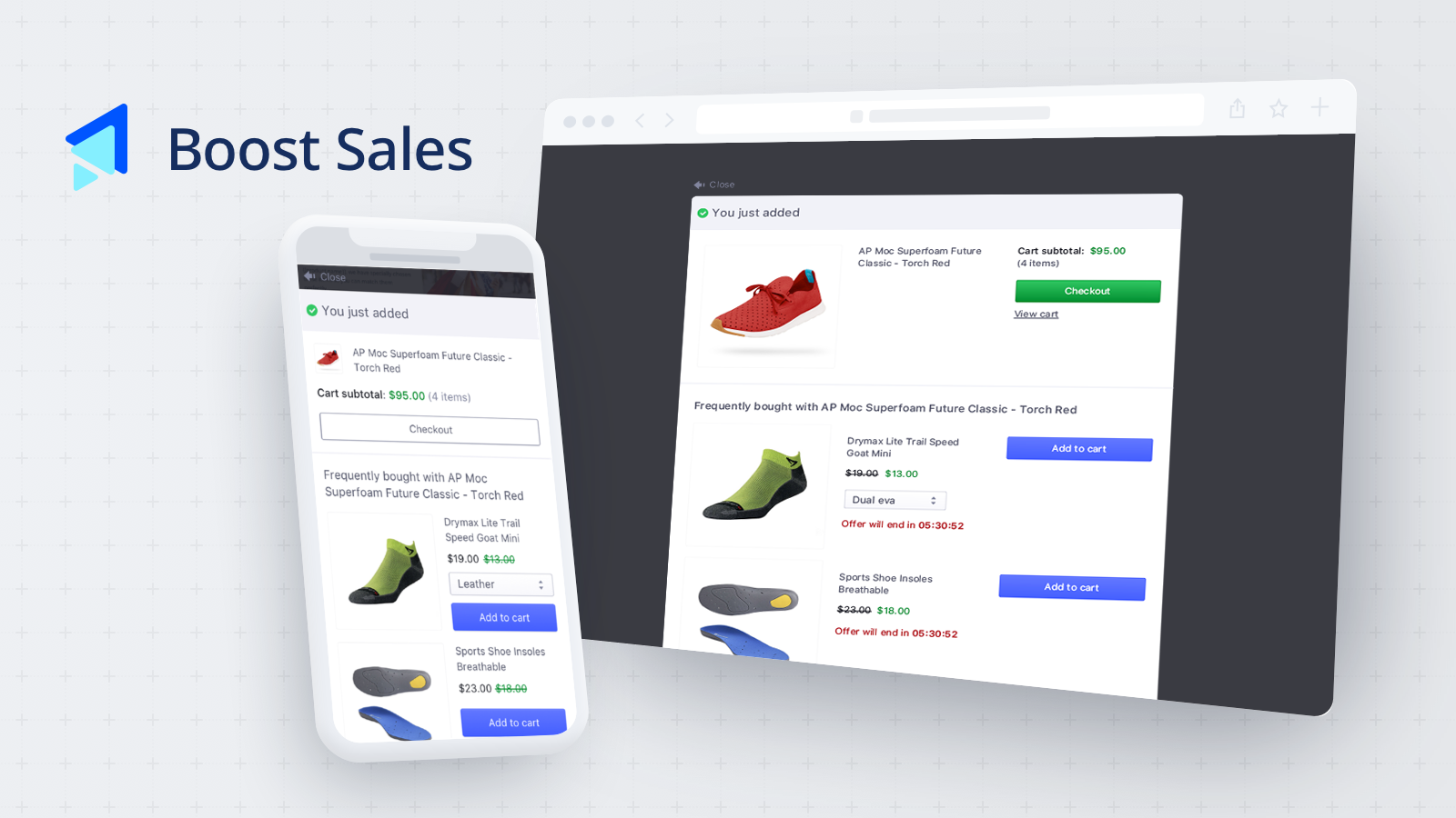 Increase order value with up-sell & cross-sell