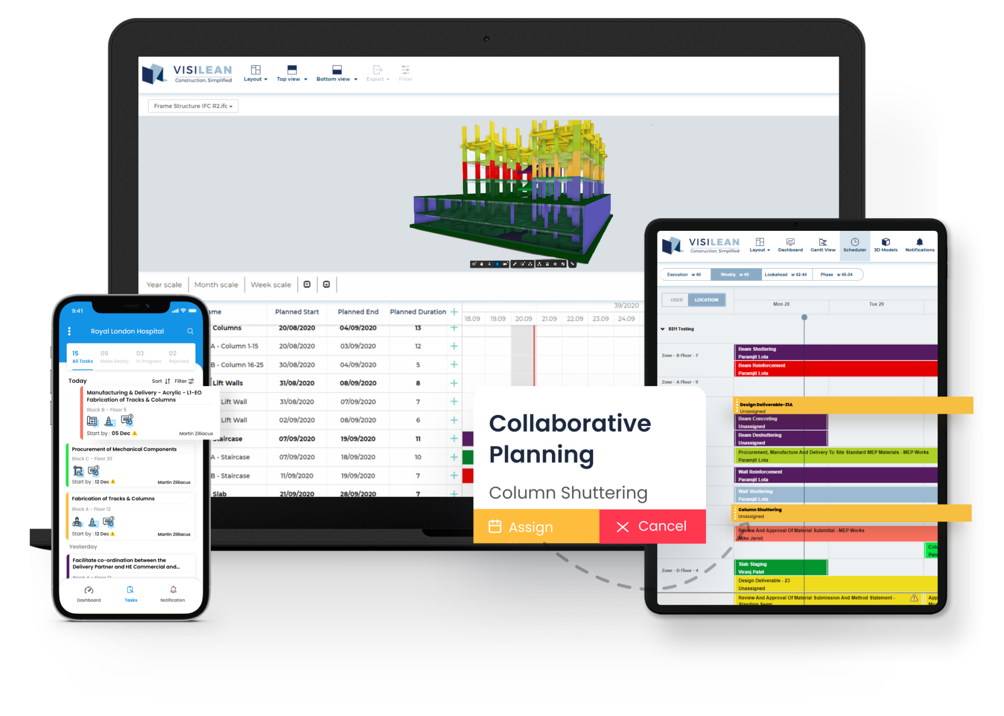 VisiLean Software - Collaborative planning with VisiLean