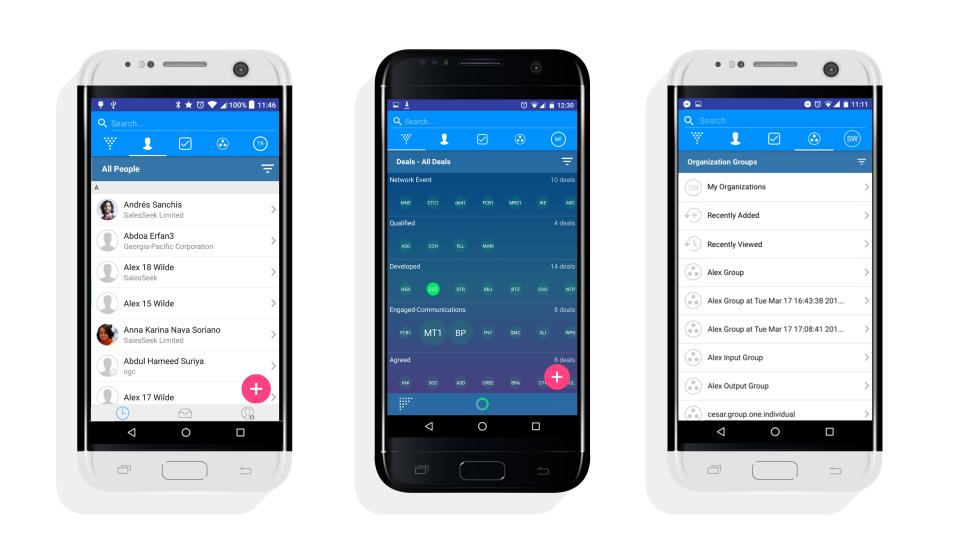 SalesSeek Software - SalesSeek on Android