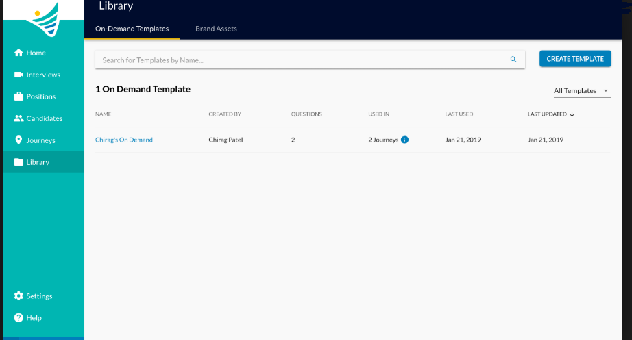 ConveyIQ library screenshot