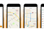 Captura de tela do ArcGIS: Navigator for ArcGIS is a companion mobile app for iOS and Android, providing map-based navigation for field-based workers