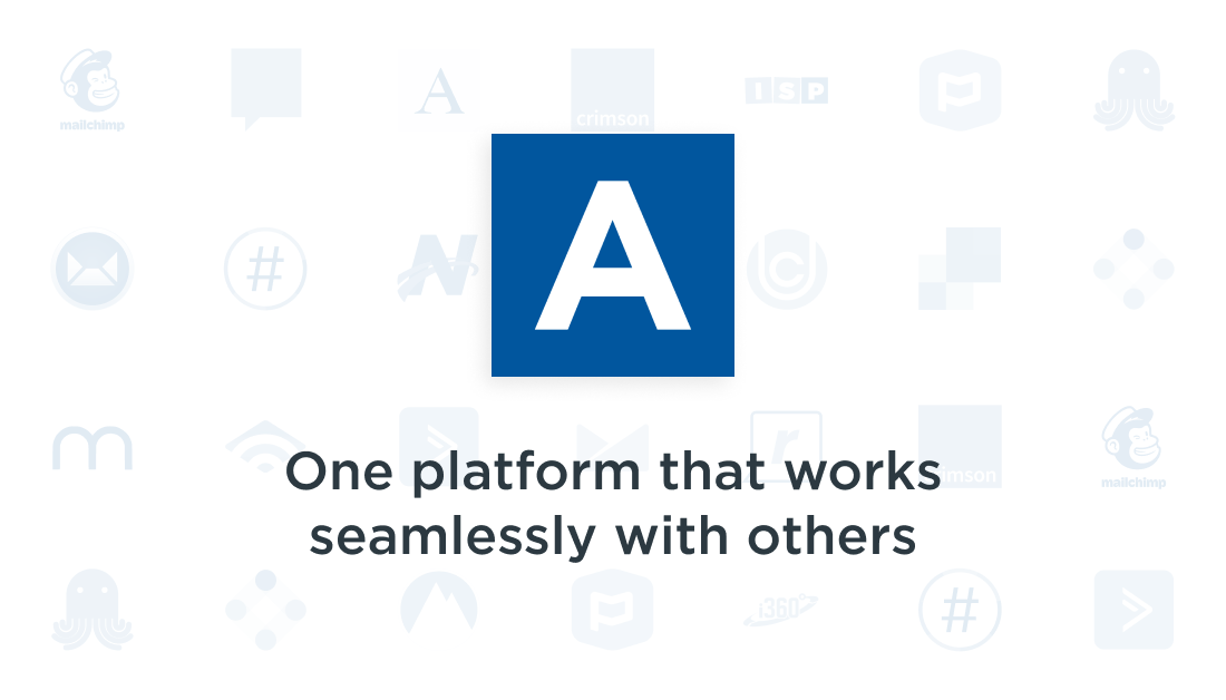 Anedot works seamlessly with other apps