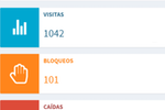 AdProtect screenshot: AdProtect mobile dashboard
