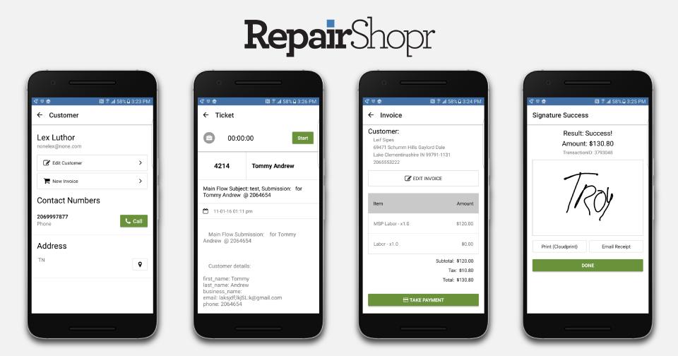 RepairShopr Software - 3