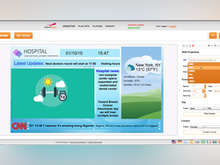 NoviSign Software - NoviSign Digital Signage presentation editor