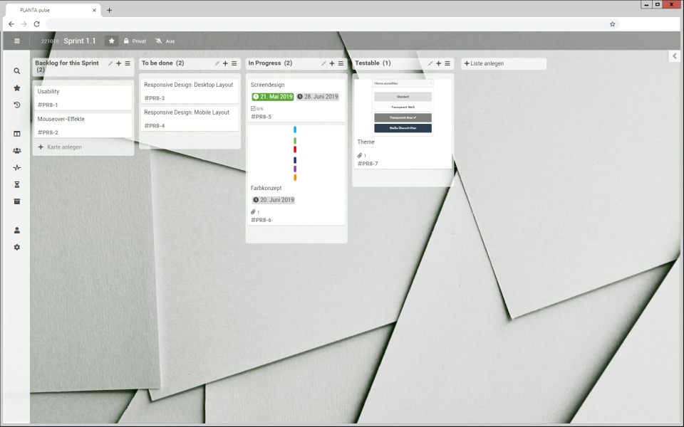 PLANTA Project Software - 5