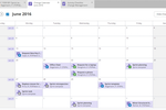 TOPdesk Screenshot: Schedule changes within the calendar to ensure that tasks do not overlap or interrupt employee work