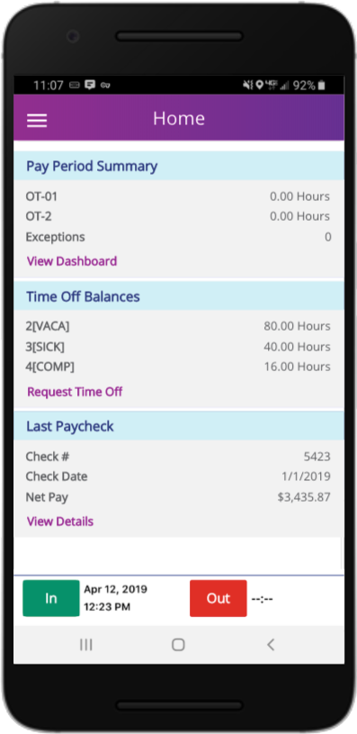 Ascentis Software - Ascentis Mobile Paychecks