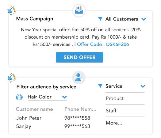 MioSalon automated marketing