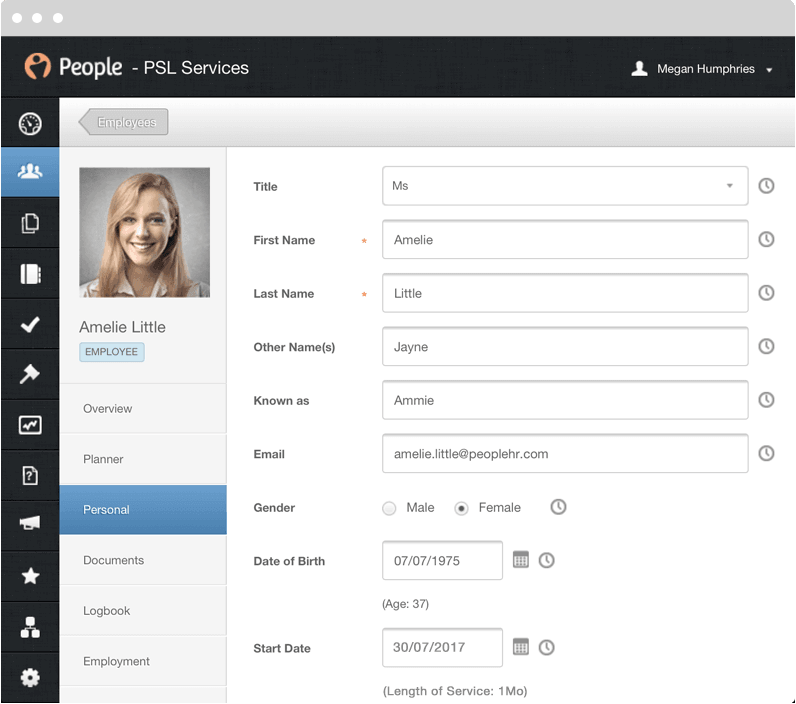PeopleHR Software - 1
