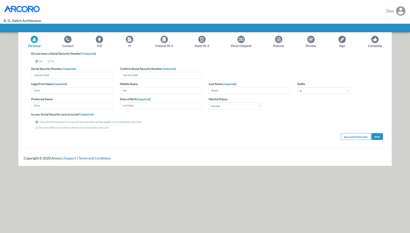 Arcoro Software - Automate new hire paperwork