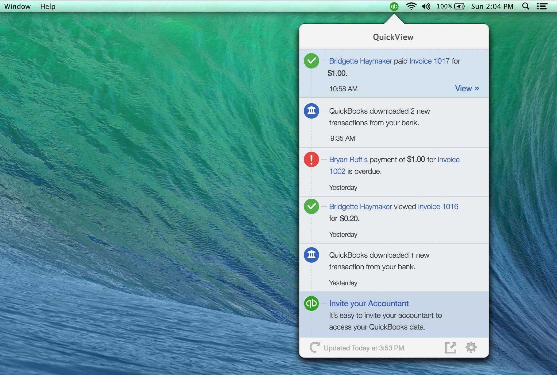 QuickBooks Desktop for Mac Software - 5