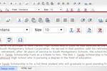 Scholars United screenshot: Edit and customize application essays