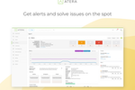 Atera Screenshot: Get Alerts and Solve Issues On The Spot