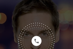 Zoiper screenshot: An incoming call displayed within the Zoiper Pro app for Android, highlighting that incoming calls are acknowledged across multiple providers