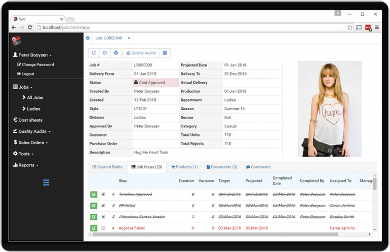 Sync Software - Delivery management %>