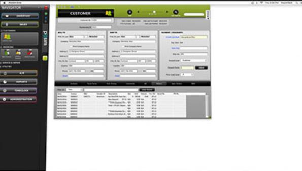 POSIM Retail POS sales tax calculator screenshot