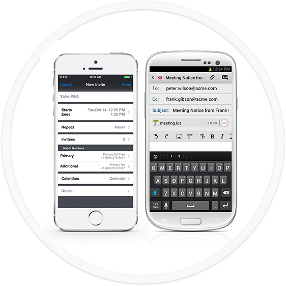 Conference Call - mobile app